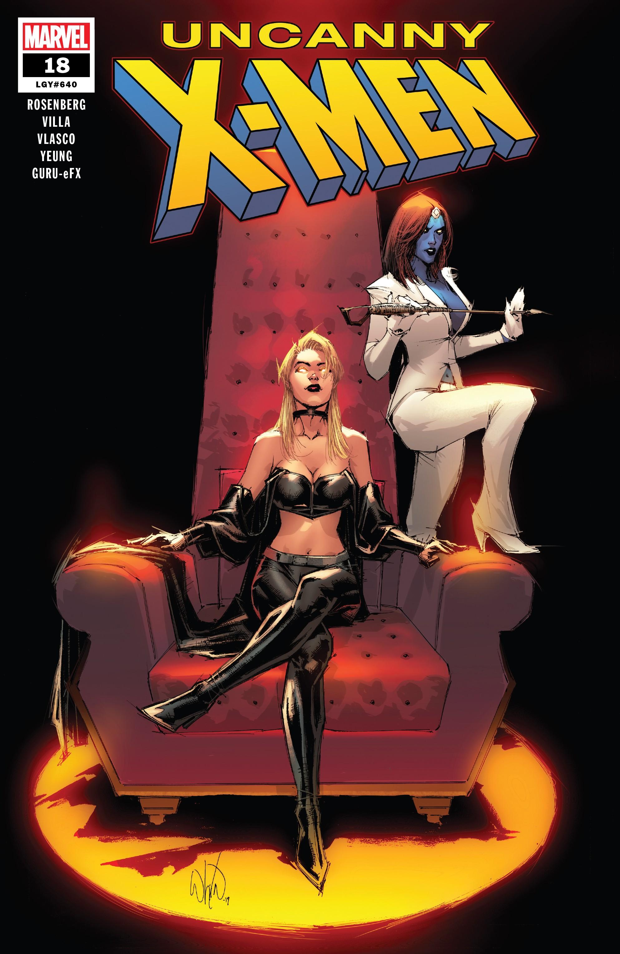 Uncanny X-Men (2018-): Chapter 18 - Page 1
