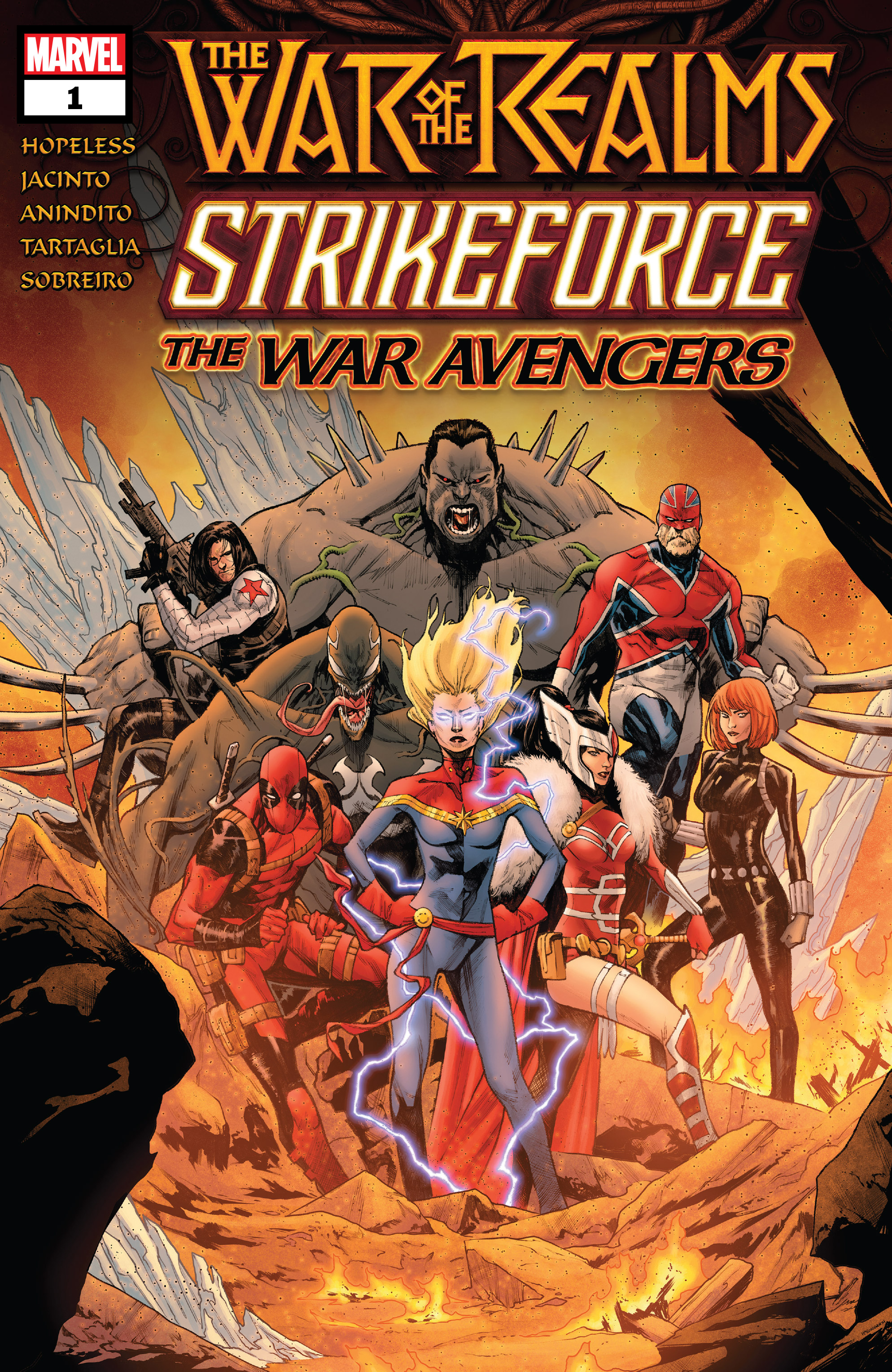War Of The Realms Strikeforce: The War Avengers (2019): Chapter 1 - Page 1