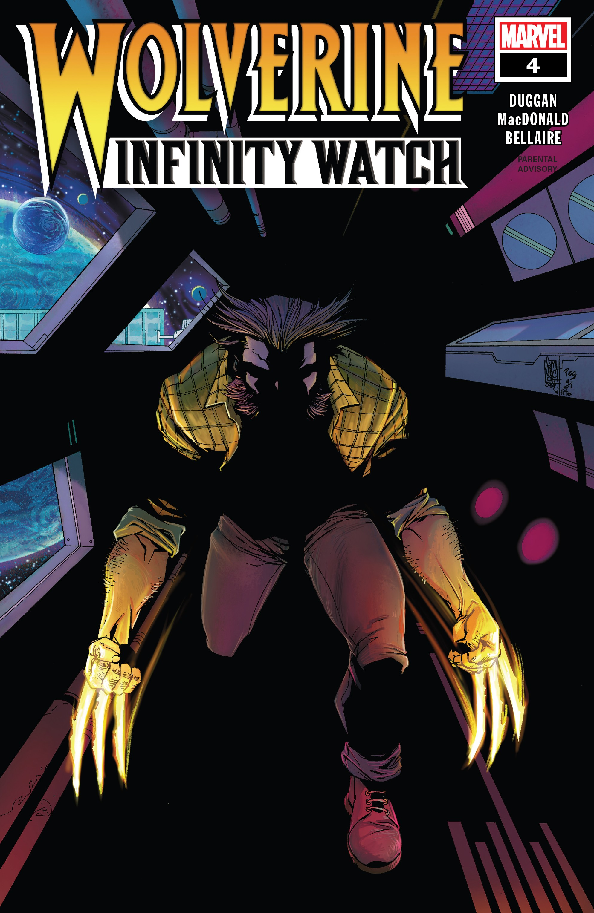 Wolverine: Infinity Watch (2019): Chapter 4 - Page 1