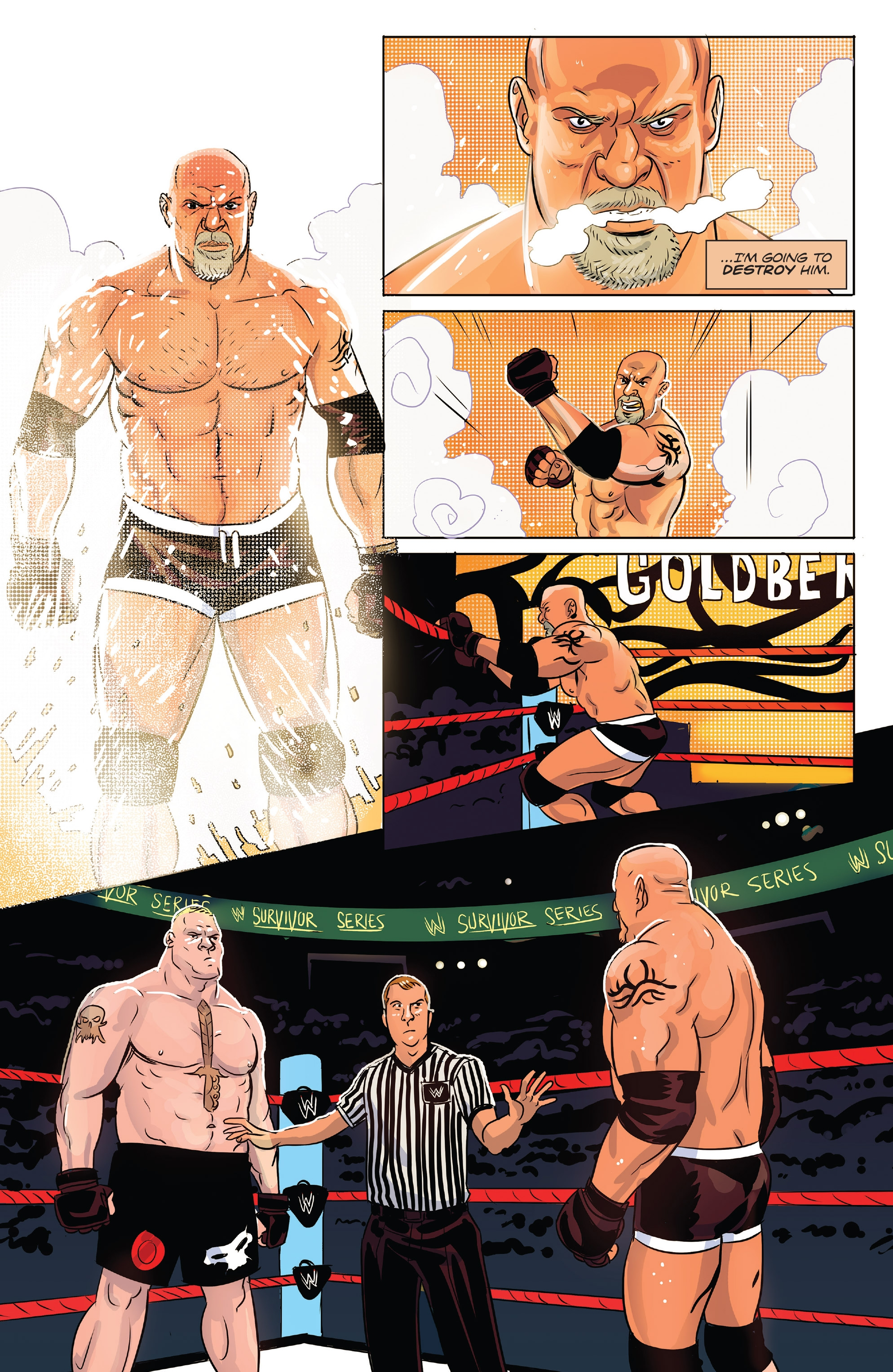 WWE Survivor Series 2017 Special: Chapter 1 - Page WWE Survivor Series 2017 Special