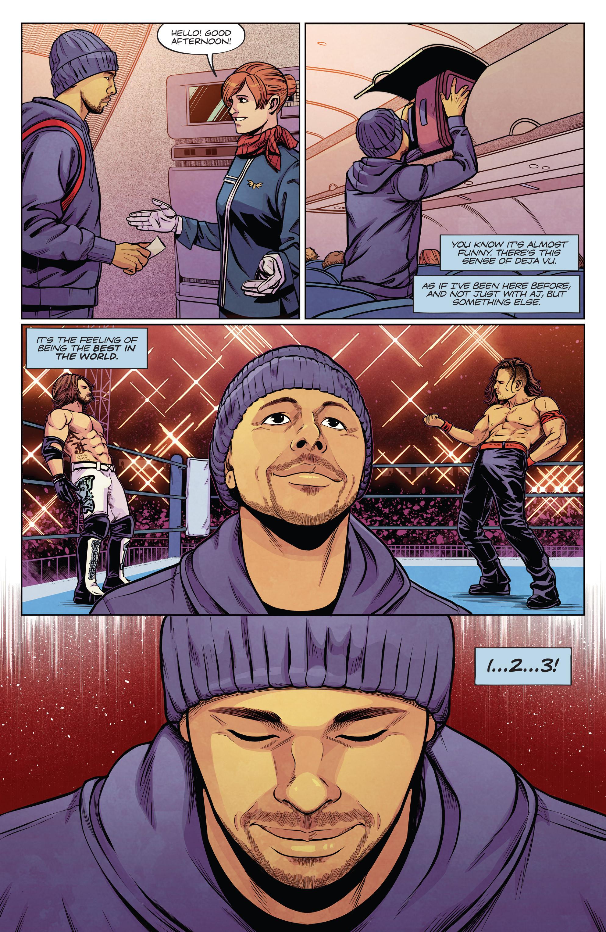 WWE Wrestlemania 2019特别: Chapter 1 - Page WWE Wrestlemania 2019特别