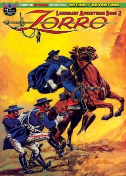 Zorro: Legendary Adventures Book 2 (2019)